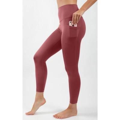 ヨガリシャス Yogalicious レディース フィットネス・トレーニング スパッツ・レギンス Carbon Lux High Waist Elastic Free Side Pocket 7/8 Ankle Legging
