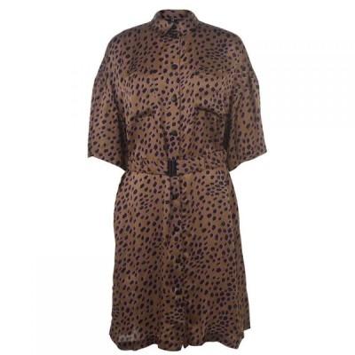 ポールスミス Paul Smith レディース ワンピース ワンピース・ドレス Cheetah Dress BEIGE