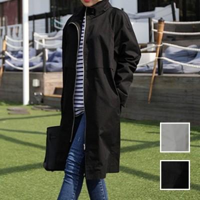 韓国 ファッション レディース アウター コート 秋 冬 春 カジュアル スタンドカラー ユニセックス シンプル naloI954 20代 30代 40代