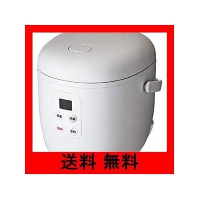 コイズミ KSC1513W ライスクッカーミニ ホワイト