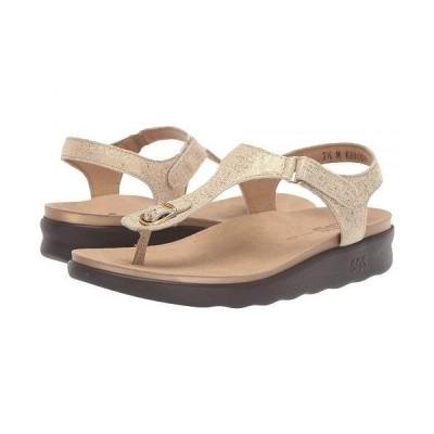 SAS サス レディース 女性用 シューズ 靴 ヒール Marina - Shiny Gold