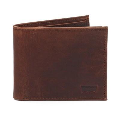 リーバイス 財布 アクセサリー メンズ Men's Passcase Wallet Brown