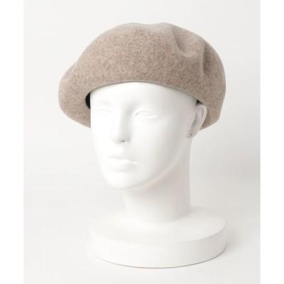 帽子 LACOSTE/ラコステ/basque wool beret/バスクウールベレー帽