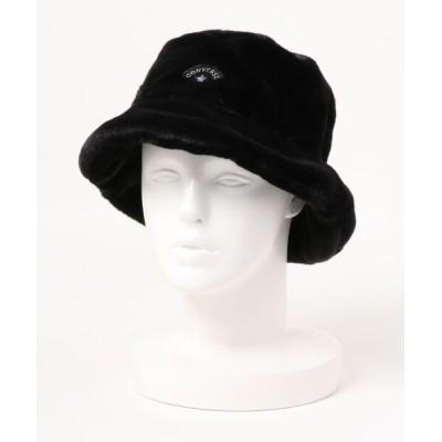 A BAG OF CHIPS / CONVERSE/コンバース FUR BUCKET HAT WOMEN 帽子 > ハット