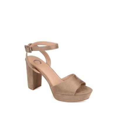ジャーニーコレクション レディース パンプス シューズ Nairri Platform Sandal TAUPE