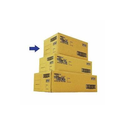 日本サニパック 容量表記入り白半透明ごみ収集袋 炭カル入 45L HT47 1箱(10枚×30パック入)