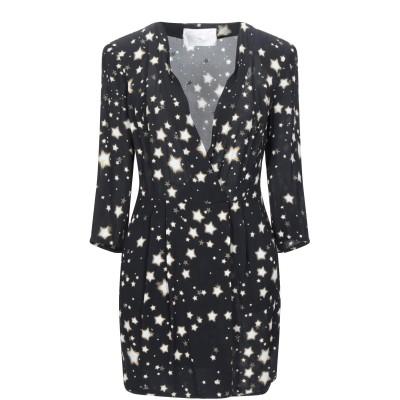 PASSEPARTOUT DRESS by ELISABETTA FRANCHI CELYN b. ミニワンピース&ドレス ブラック 44 レーヨン