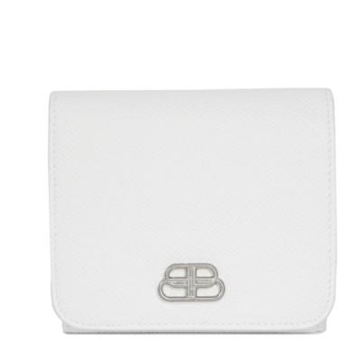バレンシアガ BB コンパクトウォレット 三つ折り財布 三つ折り ブラン 601462 0OTXN 9000 中古