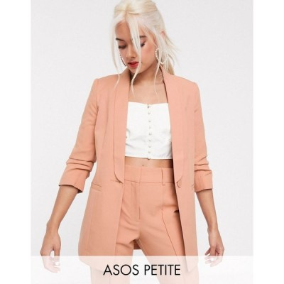 エイソス ジャケット レディース MIX & MATCHASOS DESIGN Petite mix & match tailored suit blazer エイソス ASOS