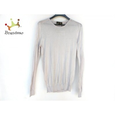 ドゥロワー Drawer 長袖セーター サイズ2 M レディース 美品 ライトグレー 新着 20200314 Spring2020