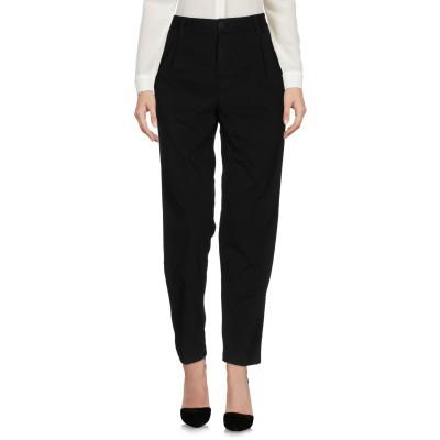 EUROPEAN CULTURE パンツ ブラック 28 コットン 98% / ポリウレタン 2% パンツ