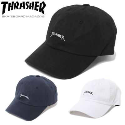 スラッシャー THRASHER 帽子 キャップ メンズ レディース GONZ LOGO ローキャップ 20TH-C02
