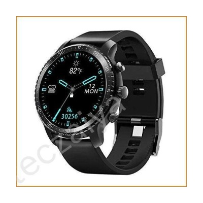 Tinwoo Smart Watch for Android / iOS Phones, Support Wireless Charging, Bluetooth Health Tracker with Heart Rate Monitor, Digital Smartwatch