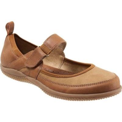 ソフトウォーク レディース スニーカー シューズ Haddley Mary Jane Luggage/Tan Tumbled Buff Leather