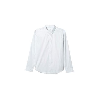 カルバン・クライン The Stretch Cotton Shirt メンズ シャツ トップス Grey Illusion