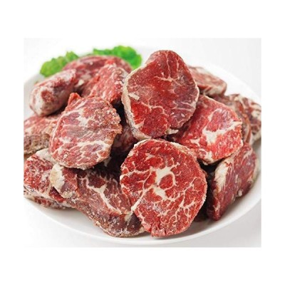 [スターゼン] 肉 牛肉 厚切り サガリ 冷凍 カナダ産 牛 ステーキ スライス ブロック 焼肉 バーベキュー 煮込み (1kg)