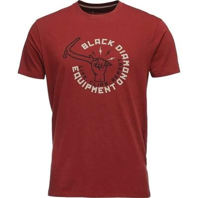 ブラックダイヤモンド Black Diamond メンズ Tシャツ トップス Hammered Tee Red Oxide