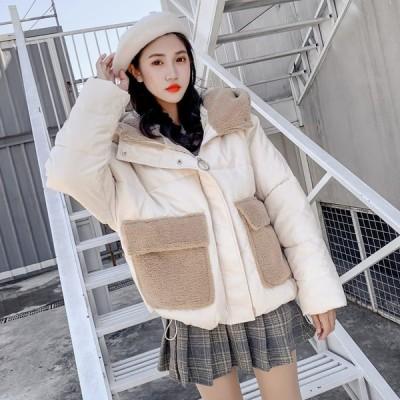 ジャケット ブルゾン レディース おしゃれ ボア ジャンパー アウター 10代 高校生 中学生 韓国 ファッション 大きいサイズ 2207