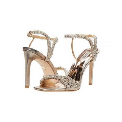 Badgley Mischka バッジリーミシュカ レディース 女性用 シューズ 靴 ヒール Galia - Champagne