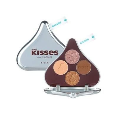 ETUDE エチュード 公式 キスチョコレート プレイカラーアイズ アイシャドウ ミルク 1.2g×4色