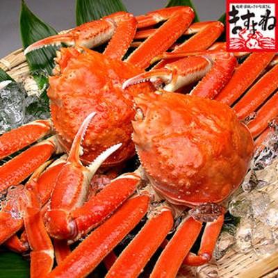 【1.2kg(600g前後×2匹)】ボイルずわい蟹/姿