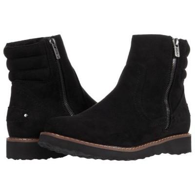 ロキシー レディース シューズ ブーツ Jovie Fur Faux Leather Boots