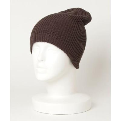 MaG. / 【LW】コットンニットキャップ - COTTON KNIT CAP WOMEN 帽子 > ニットキャップ/ビーニー
