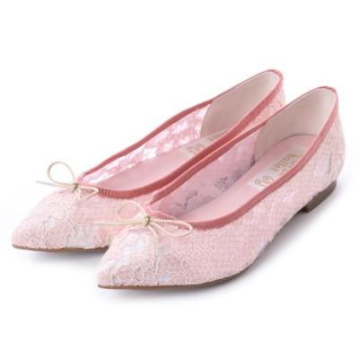 ラウナレアバレエ Launa lea ballet ポインテットトゥバレエシューズ (PKベージュZ)