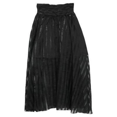 レリッシュ RELISH ロングスカート ブラック 38 ポリエステル 100% ロングスカート