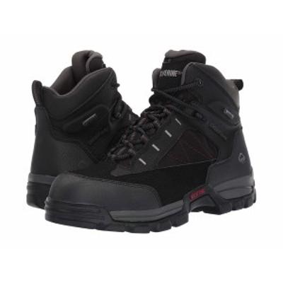 """ウルヴァリン メンズ ブーツ&レインブーツ シューズ Amphibian 6"""" Amphibian Composite Toe EH WP Boot Black"""