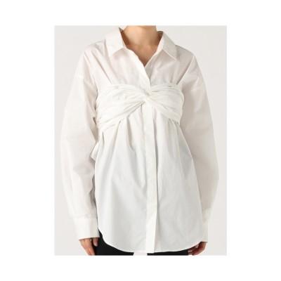 LAGUNAMOON コットンラップシャツ ホワイト