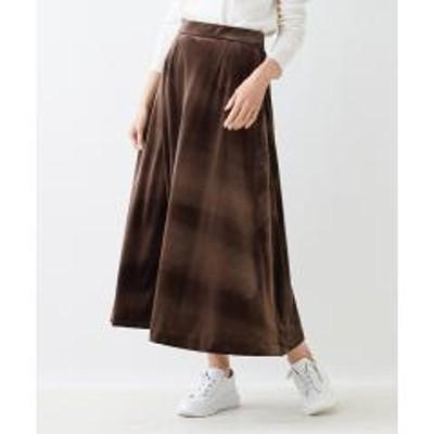 キャラオクルス【セットアップ】ベロアのロングスカート