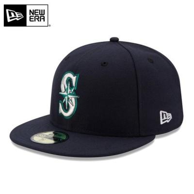 【メーカー取次】 NEW ERA ニューエラ 59FIFTY MLB On-Field シアトル・マリナーズ ネイビー 11449340 キャップ【クーポン対象外】【T】