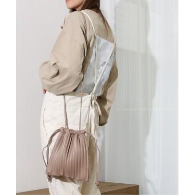 WEST CLIMB / Per sist ence/パーシエンス プリーツ巾着ショルダー WOMEN バッグ > ショルダーバッグ