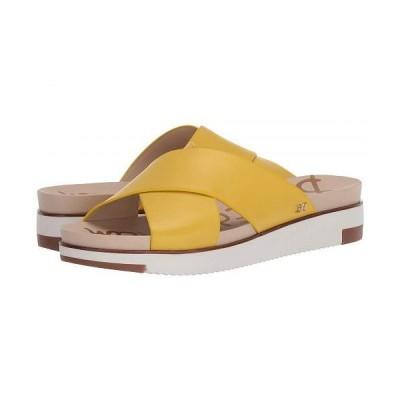Sam Edelman サムエデルマン レディース 女性用 シューズ 靴 サンダル Audrea 2 - Lemon Zest Vaquero Saddle Leather