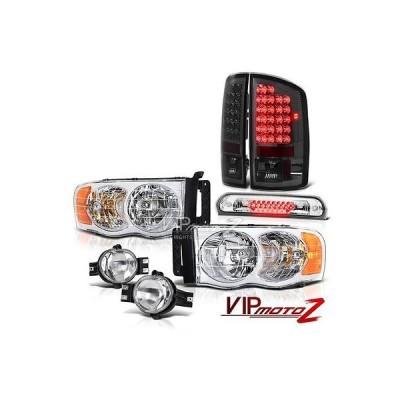 カー用品 パーツ アクセサリー ヘッドライト ヴェノム 02-05 ダッジラム クローム ヘッドライト L.E.D テールライト スモーク クリスタル フォグ ブレーキ