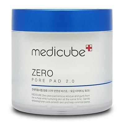 MEDICUBE メディキューブ ゼロ毛穴パッド 2.0 (70pads) 155g / 無料配送 / Zero Pore Pad 2.0 (70pads) 155g / New