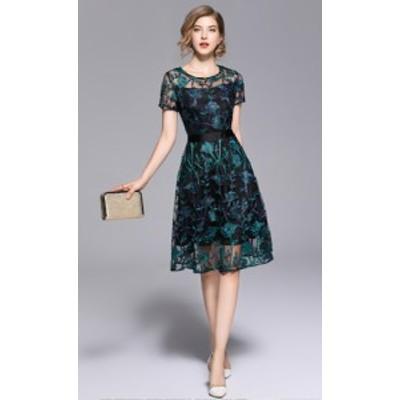 パーティードレス 結婚式 二次会 ワンピース 結婚式 お呼ばれ ドレス 20代 30代 40代 結婚式 お呼ばれドレス 膝丈 ワンピース ドレス パ