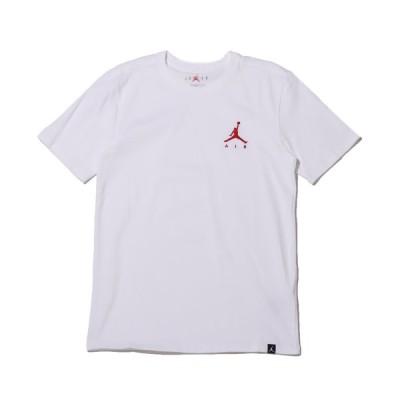 ジョーダンブランド JORDAN BRAND 半袖Tシャツ ジョーダン ジャンプマン エア EMBRD Tシャツ (WHITE/GYM RED) 21SP-I