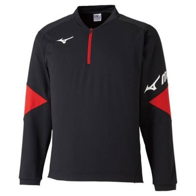 ライトスウェットシャツ(ハーフジップ) MIZUNO ミズノ テニス/ソフトテニス ウエア スウェット (62JC0510)