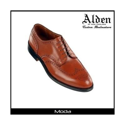 ALDEN オールデン タン カーフスキン Aberdeen Last ブラッチャー ドレスシューズ ビジネス メンズ 靴