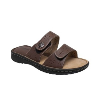 シャブーン レディース サンダル シューズ Women's Comfort Slide Sandals Brown