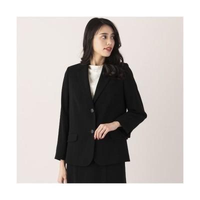 MISSEL / ミゼール 【フォーマルブラック】縦二重織りテーラードジャケット【セットアップ対応可】