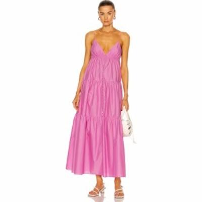 マトー Matteau レディース ワンピース サンドレス Aライン ワンピース・ドレス Triangle Tiered Sun Dress Mauve