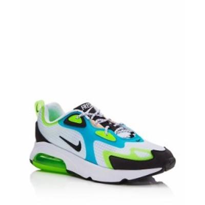 ナイキ メンズ スニーカー シューズ Men's Air Max 200 SE Low-Top Sneakers White