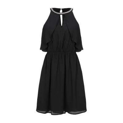 リュー ジョー LIU •JO ミニワンピース&ドレス ブラック 44 ポリエステル 100% ミニワンピース&ドレス