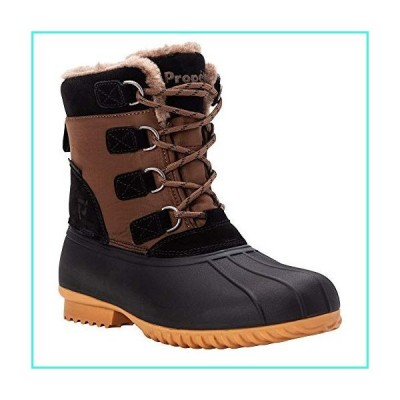 【新品】Prop〓t womens Ingrid Snow Boot, Pinecone/Black, 8 XX-Wide US(並行輸入品)