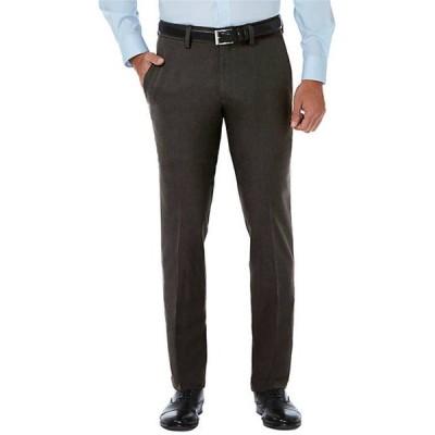 ハガー メンズ カジュアルパンツ ボトムス Slim Fit Premium Flex Waistband Flat Front Pants