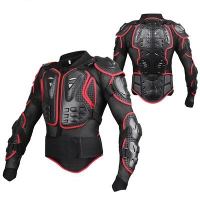 バイク用 ジャケット 春夏用 赤 レーシングプロテクター ツーリング/ボディプロテクター  バイク用インナージャケットサイズ選択可