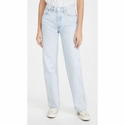 リダン RE/DONE レディース ジーンズ・デニム ボトムス・パンツ 90s High Rise Loose Jeans Perfect Light Indigo
